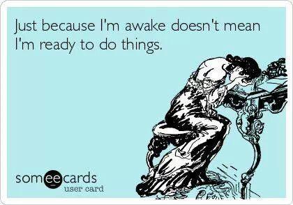 trött på att vara trött
