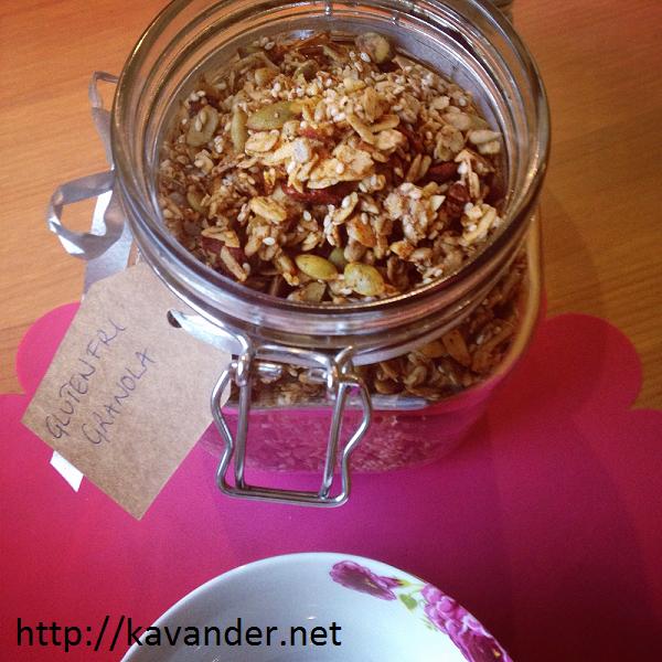 glutenfri granola 4